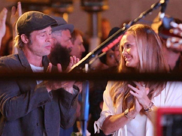 about Brad Pitt and his Rumored Girlfriend Sat Hari Khalsa