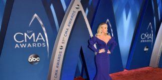Celebrities at 2019 CMA Awards Red Carpet