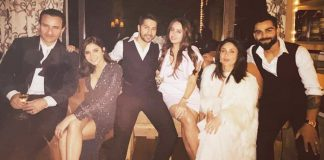 Bollywood Stars at New Year Together
