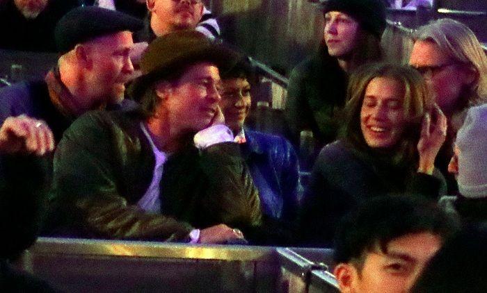 Brad Pitt and Alia Shawkat Dating
