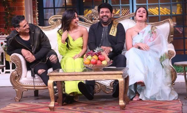Good Newwz cast on The Kapil Sharma Show
