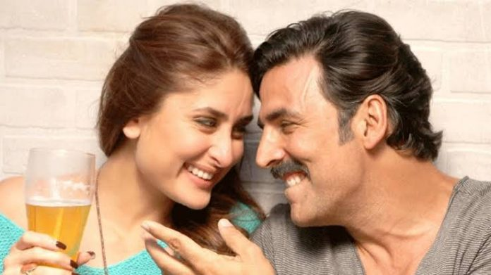 Kareena Kapoor Spat on Akshay Kumar on the Shooting of Good Newwz