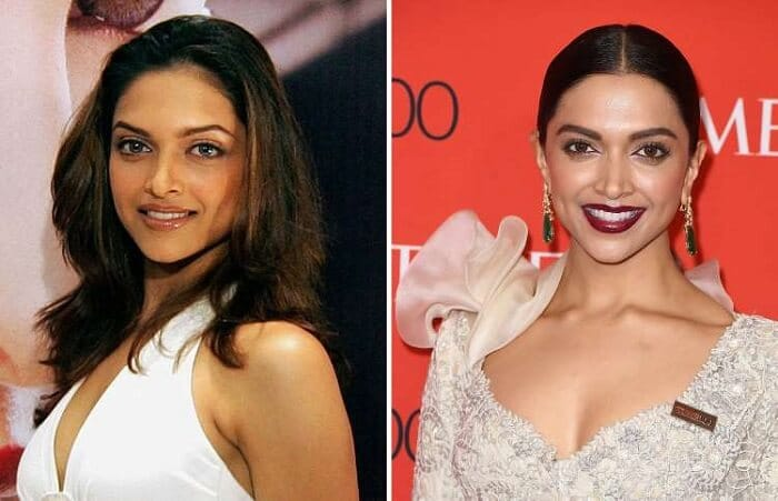 Deepika Padukone - Bollywood Actresses Then and Now