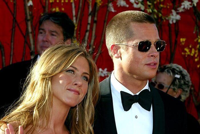 Brad Pitt and Jennifer Aniston - Most Shocking Celebrities Breakups