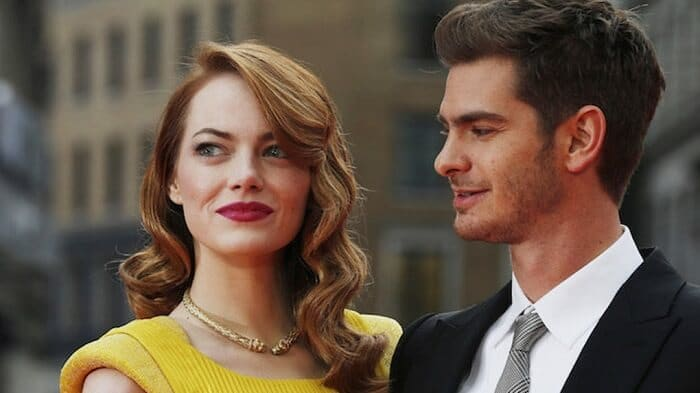 Emma Stone and Andrew Garfield - Most Shocking Celebrities Breakups
