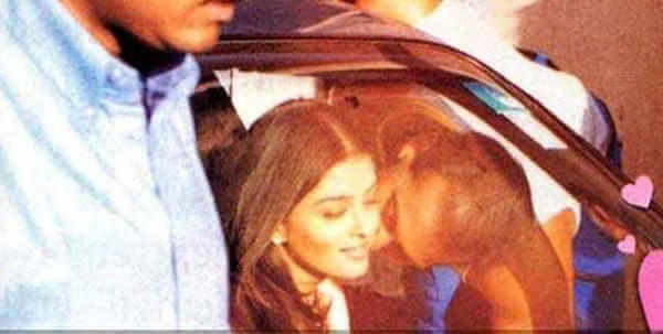 Salman Khan and Aishwarya Rai - Leaked pictures of Bollywood celebrities