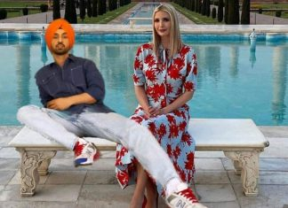 Diljit Dosanjh Photoshopped Taj Mahal Pic with Ivanka Trump