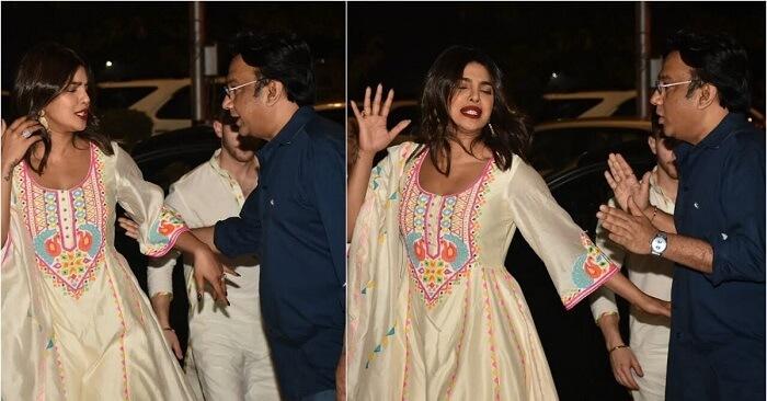 Priyanka Chopra Avoids Handshake