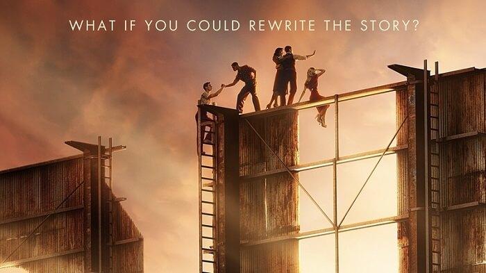 Netflix series Hollywood - Dylan McDermott Intimate Scene