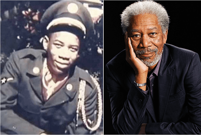 Morgan Freeman - Celebrities Who Served in Military