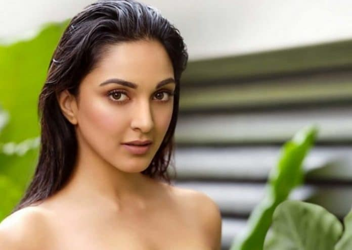 Kiara Advani Goes Topless for Calendar Shoot