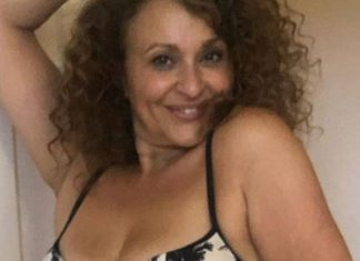 Nadia Sawalha Shares Warning Pics of Before and After Wearing Underwear