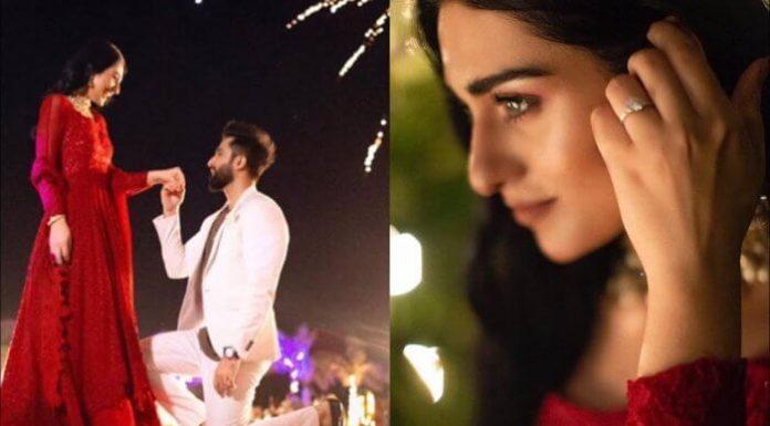 Pakistani Actress Sarah Khan Gets Engaged to Singer Falak Shabbir