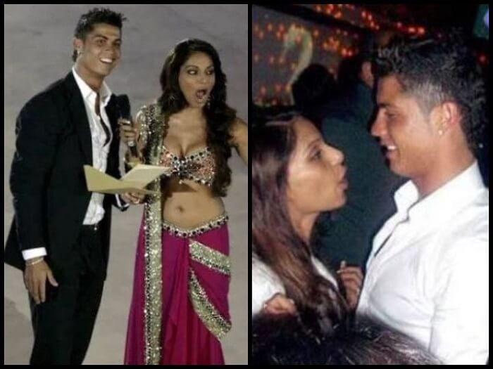 Bipasha Basu and Christiano Ronaldo