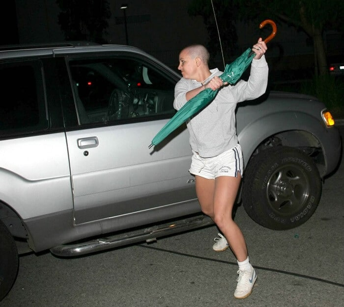 Britney Spears mental breakdown