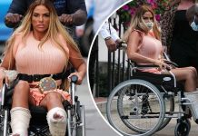 Katie Price Reveals Devastating News about Broken Feet