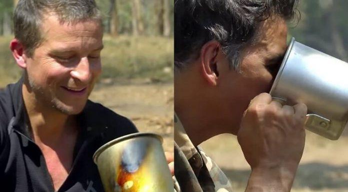 Into The Wild: Akshay Kumar Drinks 'Elephant Poop Tea'